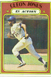 1972 Topps Baseball Cards      032      Cleon Jones IA
